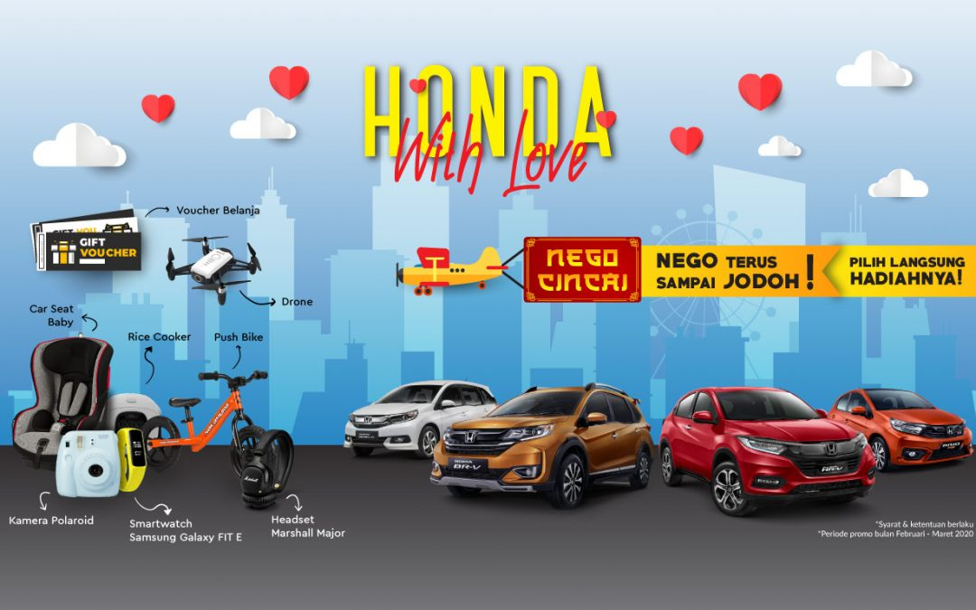 promo honda with love